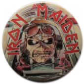 Iron Maiden - 'Aces High' Vintage 32mm Badge